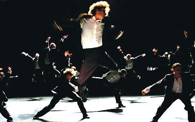 Hubbard Street Dance doing Ohad Naharin. Hubbardstreetdance.org
