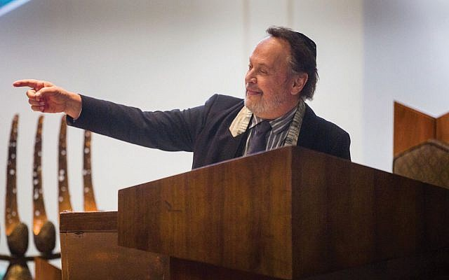 "Billy Crystal as a rabbi in ""Untogether."" Freestyle Digital Media"