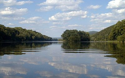 The Delaware River. Via Wikimedia