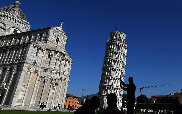 Leaning Tower of Pisa. TIZIANA FABI/AFP/Getty Images