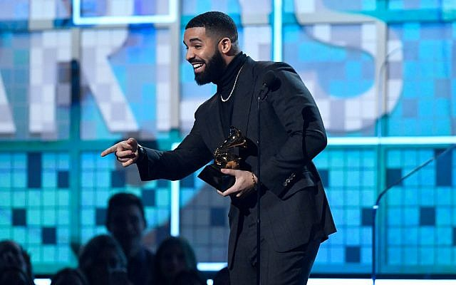 Drake accepts Best Rap Song for 'God's Plan' onstage during the 61st Annual GRAMMY Awards. Getty Images