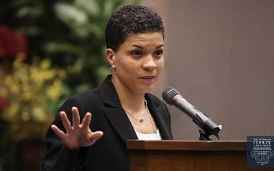 Michelle Alexander, New York Times columnist. Via YouTube