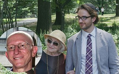 The film's writer-director Jeff Lipsky, left. Rebecca Schull as a dying Holocaust survivor with an explosive secret with her doting great-grandson, played by A.J. Cedeno. Photos courtesy of Plainview Pictures