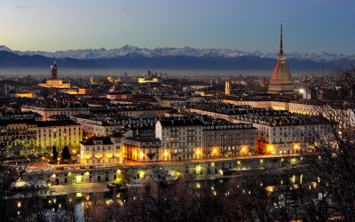 Turin at night. WikimediaCommons/Hpnx9420