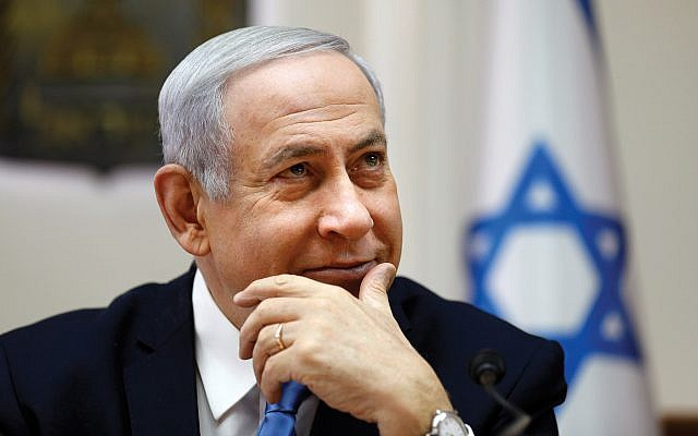 "Prime Minister Netanyahu: Stressing ""nation-state"" law. Getty Images"