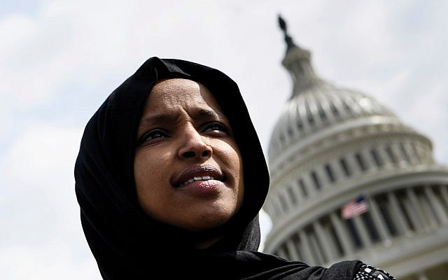 "Freshman Democrat Ilhan Omar of Minnesota stressed in this week's opinion article that Israel is the ""historic homeland"" of the Jews, but some Jews remain skeptical that it marks a change of heart. Getty Images"