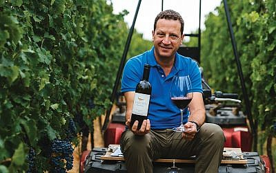 Victor Schoenfeld of Golan Heights Winery. Photos courtesy of winemakers.