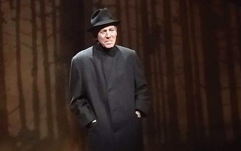 "Mark Jacoby as Motke Zeidel in ""Vilna.""  Courtesy of Ira Fuchs"