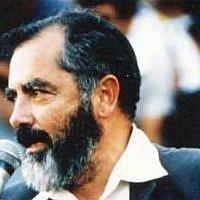 Rabbi Meir Kahane. Wikimedia Commons