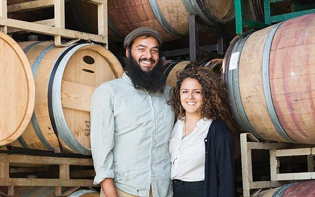 """The husband-and-wife team of Eli Silins and Molly Nadav run Camuna Cellars in Berkeley, Calif. """"I'm trying not to mess around with the quality or character of the fruit we get,"""" Silins says. Below, four offerings from Brooklyn-based Goblet Wines. Courtesy of Camuna Cellars"""