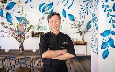UN Plaza Grill's chef Hok Chin.