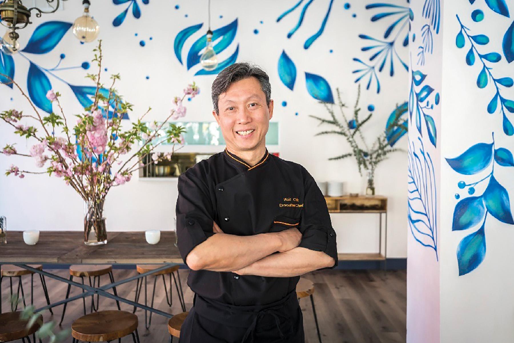 UN Plaza Grill's chef Hok Chin. Courtesy of UN Plaza Grill