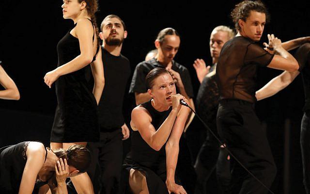 Batsheva dance troupe at BAM. Batsheva.co.il