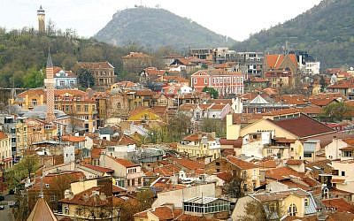 A view overlooking Plovdiv. Photos by Wikimedia Commons