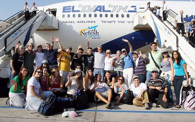 Charter Flight To Israel. Wikimedia