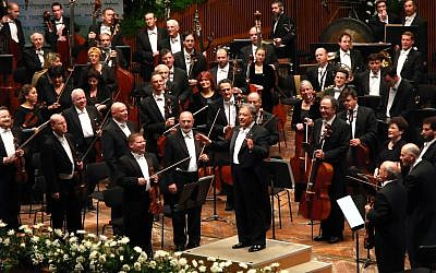 The Israel Philharmonic Orchestra. Wikimedia