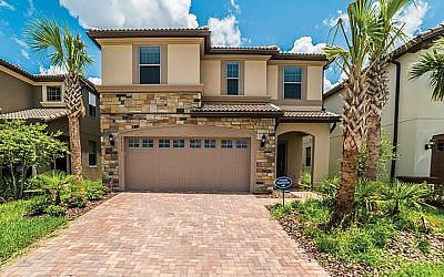 "One of the private villas for rental near Orlando as part of the ""A Different Pesach Program."" Adifferentpesachprogram.com"