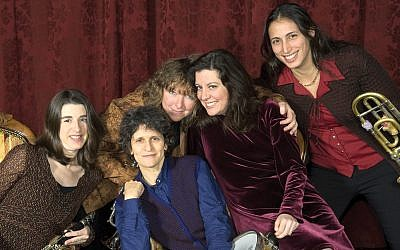 Klez for mom: Metropolitan Klezmer plays City Winery's Mother's Day brunch. Angela Jimenez