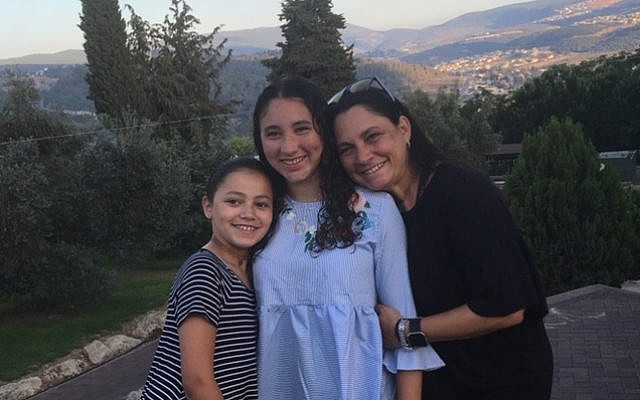 The author and her children getting ready to celebrate Shabbat, Courtesy of Daphne Lazar Price.