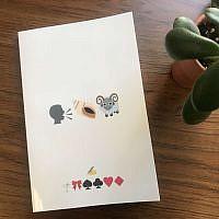 "Picture this: Martin Bodek's ""The Emoji Haggadah."" Courtesy of Martin Bodek"