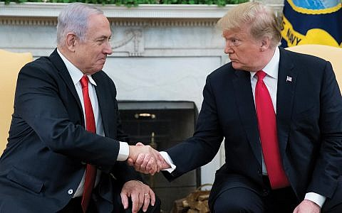 Trump and Netanyahu: Too close for comfort? getty images