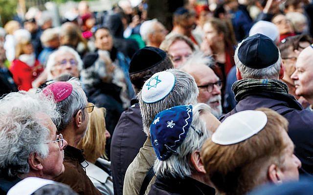 Is it safe to wear a yarmulke in Europe? getty images