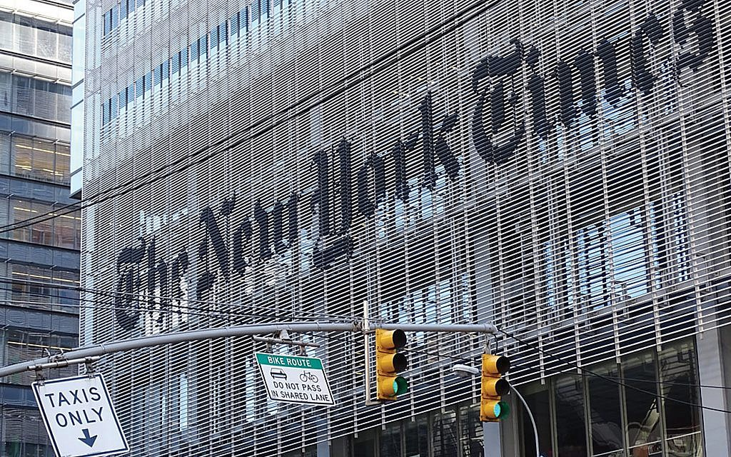 With NY Times Under Siege, Jewish Reporters Hit Back