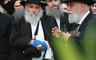 """""""Pied piper with kids"""": Rabbi Yisroel Goldstein worked for several years in Suffolk County during the late 1970s. Getty Images"""