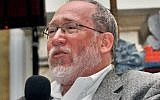 Rabbi Daniel Landes delivers a speech at a conference in Jimbaran, on Bali island, June 12, 2007. JTA