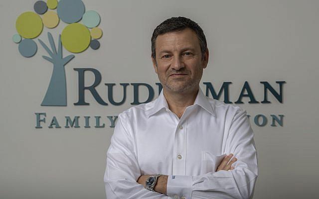Jay Ruderman, President of the Ruderman Family Foundation. Courtesy of RFF