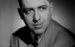 "Portrait taken in the 50's at the studio Harcourt in Paris shows US writer Herman Wouk soon after his 1951 novel ""The Caine Mutiny"" had won the Pulitzer Prize for Fiction. Getty Images"