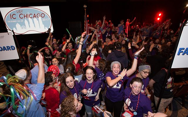 A recent convention of United Synagogue Youth, the Conservative movement's youth arm. Via Usy.org