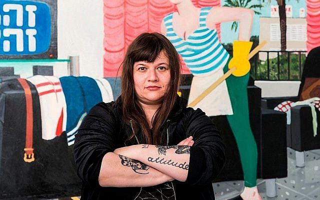 Zoya Cherkassky. Courtesy of the artist and Fort Gansevoort, New York