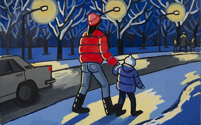 "Zoya Cherkassky, ""On the Way to School."" Courtesy of the artist and Fort Gansevoort, New York"