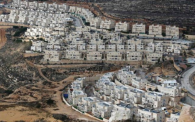 An Israeli settlement in the West Bank. Annexation could exacerbate tensions between Republicans and Democrats.  Getty Images