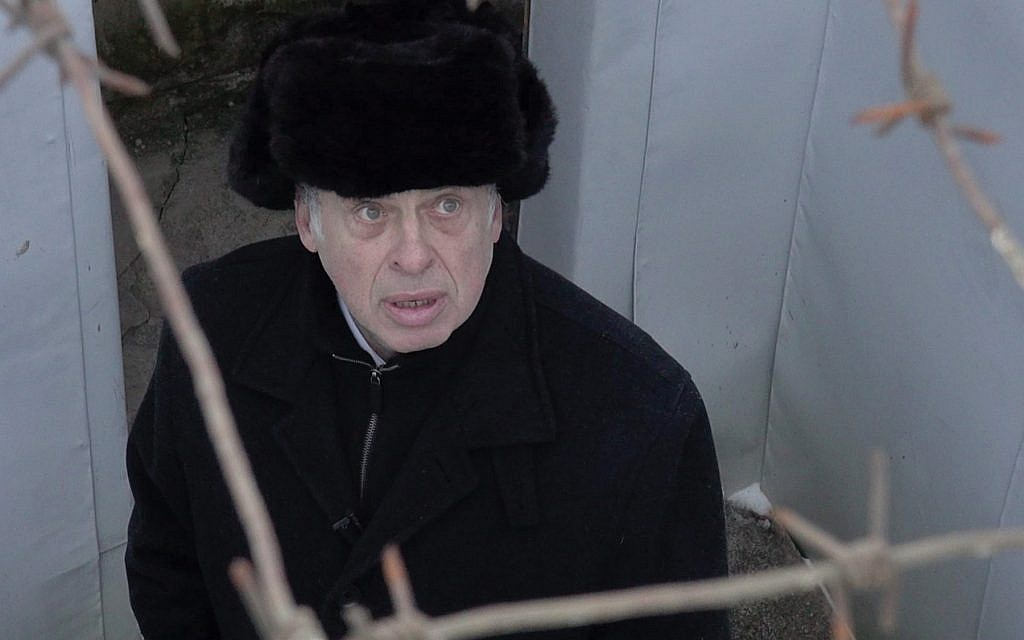 Revisiting the past: Natan Sharansky in 2017 at the abandoned Vladimir prison, where he endured years of suffering. Go2Films