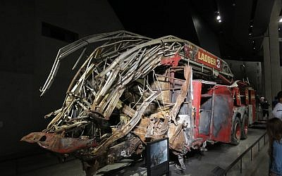 9/11 Memorial Museum Firetruck. Flickr
