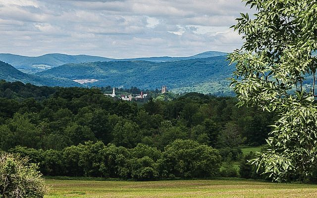 A view of the rolling hills of the Berkshires in southern Massachusetts, a summer haven for the arts. Peter Rintels