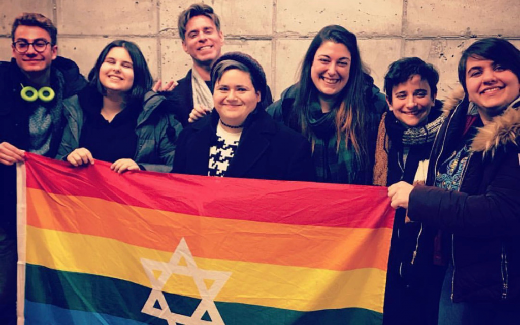 Members of JQY, a group that has provided a lifeline for teens struggling with their sexual orientations and gender identities but wanting to remain within the Orthodox fold.