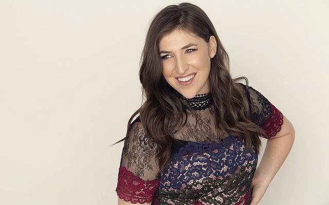 """The rise of female clergy in Orthodoxy,"" Mayim Bialik says, ""is incredibly important.""  Dove Shor"