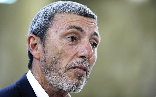 Rafi Peretz, Israel's embattled education minister. Getty Images