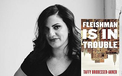 """""""I'm very lucky. I have a very good marriage,"""" says Taffy Brodesser-Anker, whose new novel centers around a divorced family. """"If I had a troubled marriage, I would not have been able to write this."""""""