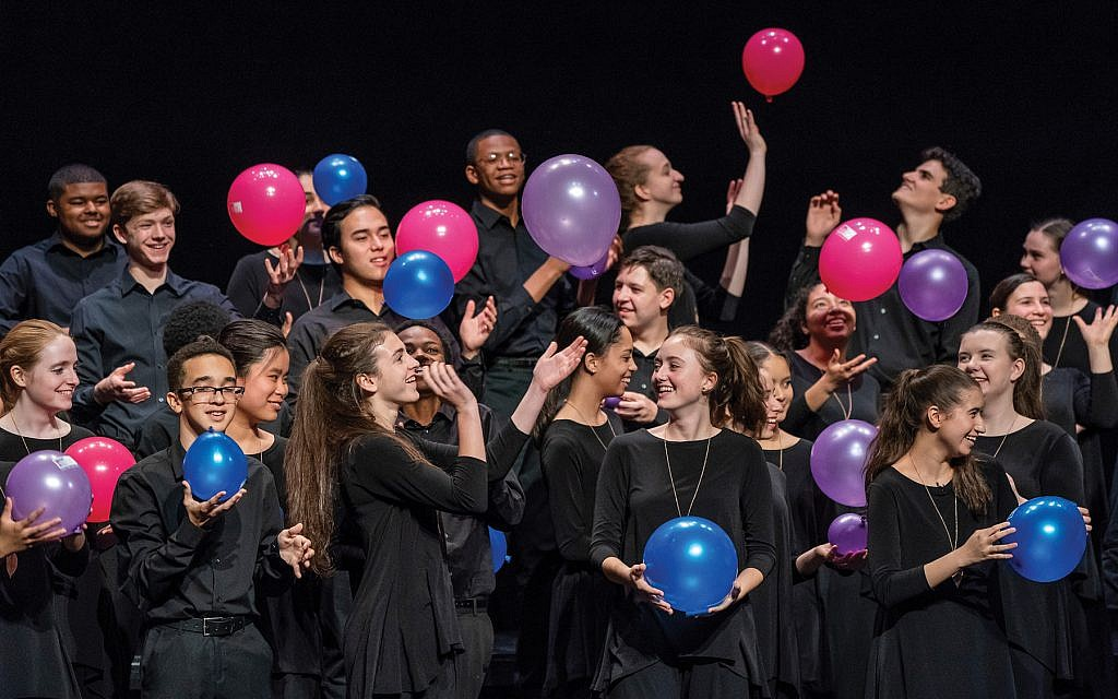 """""""How do I communicate the diversity of who we are in New York City through [Cohen's] words,"""" says Francisco J. Núñez, the founder and director of the Young People's Chorus. Stephanie Berger"""