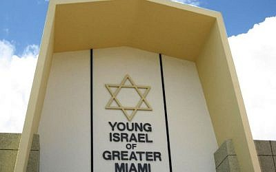 Young Israel of Greater Miami. JTA