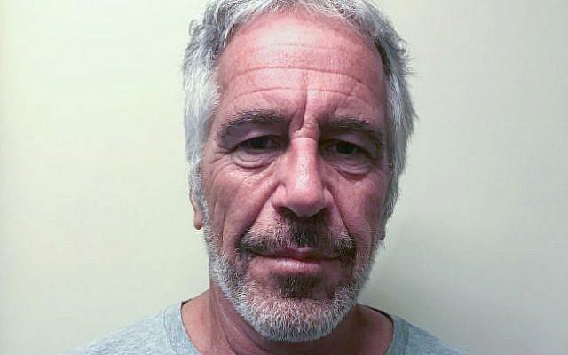 Jeffrey Epstein's 2006 mugshot. Wikimedia Commons