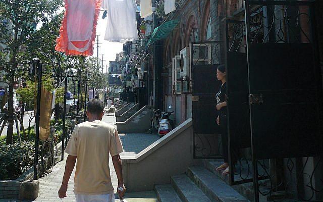 Shanghai's Jewish quarter. Wikimedia Commons
