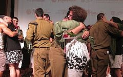"Twenty-nine mothers of IDF ""lone soldiers"" recently toured Israel and reunited with their children on a weeklong program. The mothers were whipsawed by conflicting emotions. Michele Chabin/JW"