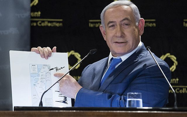 Benjamin Netanyahu's loyalty oath came under attack. Getty Images