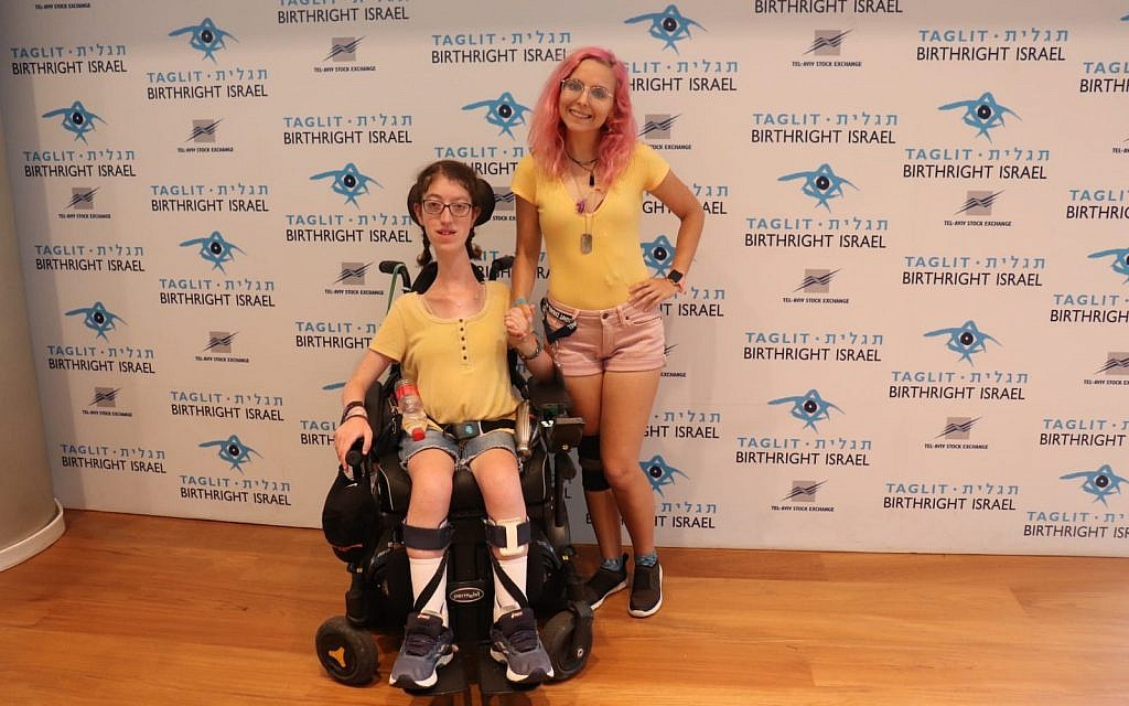 'No Limits in Motion': An Accessible Birthright Trip