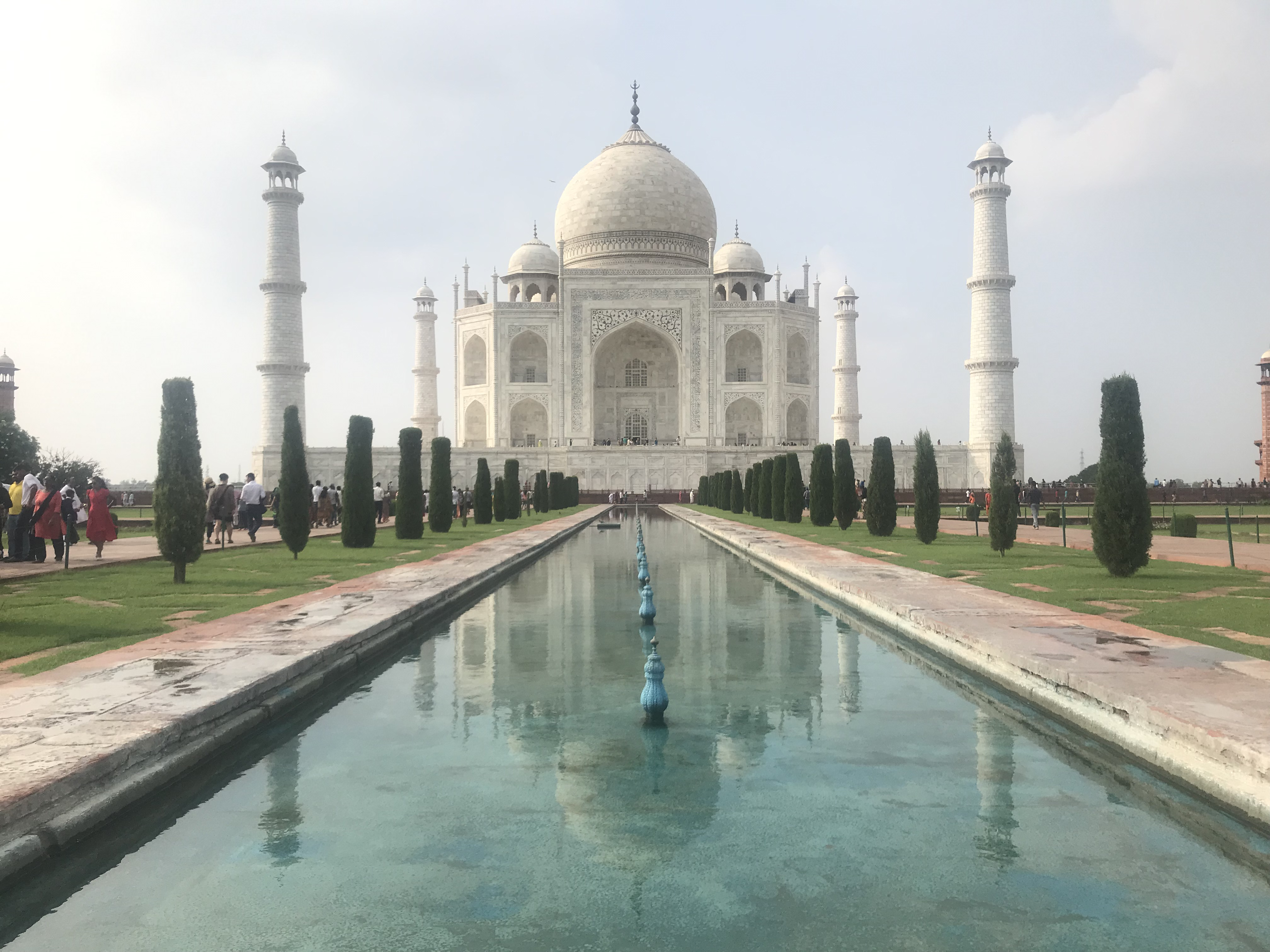 The Taj Mahal, in all her Mughal-inspired glory. Miriam Groner/JW